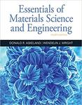 Essentials of Materials Science and Engineering, 4th edition by Wendelin Wright