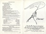 Bucknell Dance Company Fall 1988