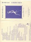 Bucknell Dance Company Spring 1988 Performance