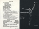 Bucknell Dance Company Fall 1989