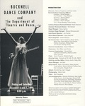 Bucknell Dance Company Fall 1996 Performance
