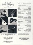Bucknell Dance Company Fall 1997 Performance