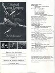 Bucknell Dance Company Fall 1998 Performance