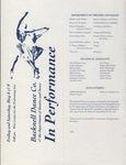 Bucknell Dance Company Spring 1992 Performance