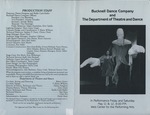 Bucknell Dance Company Spring 1990 Performance
