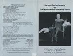 Bucknell Dance Company Spring 1990 Performance