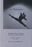 Bucknell Dance Company Spring 1991 Performance