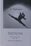 Bucknell Dance Company Spring 1991 Performance