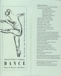 Bucknell Dance Company Spring 1993 Performance