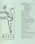 Bucknell Dance Company Spring 1993 Performance
