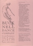 Bucknell Dance Company Spring 1994 Performance