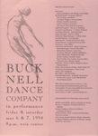 Bucknell Dance Company Spring 1994 Performance