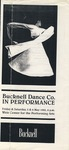 Bucknell Dance Company Spring 1995 Performance
