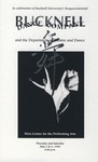 Bucknell Dance Company Spring 1996 Performance