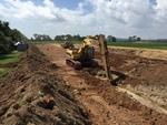 Soil-Bentonite Slurry Trench Cutoff Wall Image -- IMG_1322 by Jeffrey Evans