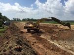 Soil-Bentonite Slurry Trench Cutoff Wall Image -- IMG_1332 by Jeffrey Evans