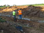 Soil-Bentonite Slurry Trench Cutoff Wall Image -- IMG_5077 by Jeffrey Evans