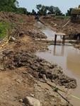 Soil-Bentonite Slurry Trench Cutoff Wall Image -- IMG_5083 by Jeffrey Evans
